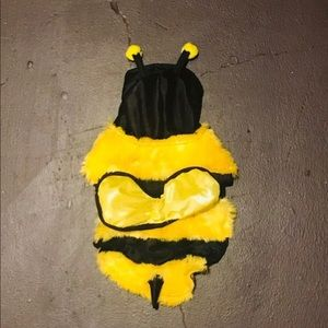 Dog Pet Bumble Bee Costume XS